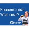 john key poster economic crisis