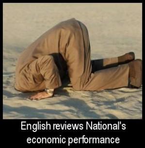 Bill English reviews the economy