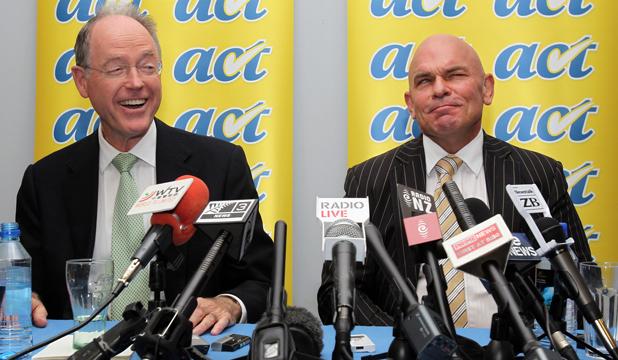 Don Brash Rodney Hide the ACT asylum