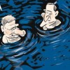 treading water budget cartoon small