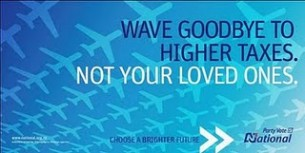 wave goodbye to higher taxes not your loved ones
