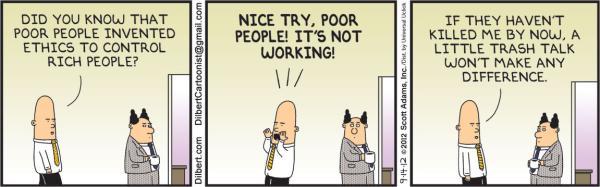 Image result for ethics dilbert