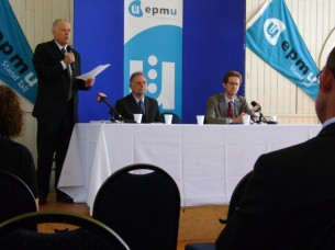 (Part of) Business Panel: Peter Conway, Nick Inskip, Prof Hugh Whittaker.