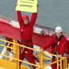 Lawlesss greenpeace shell oil ship
