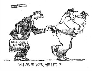 bank card rip offs whose in your wallet