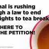 tea-breaks