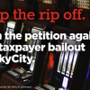 SkyCity bailout petition cropped