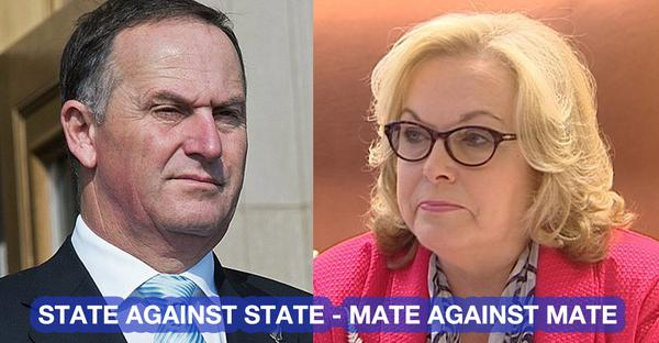 John Key Judith Collins