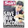 The sun Miliband cover