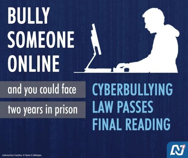 Η εικόνα είναι προσβάσιμη μόνο όταν υπάρχει σύνδεση στο διαδίκτυο. http://thestandard.org.nz/the-cyber-bullying-law-and-dirty-politics/