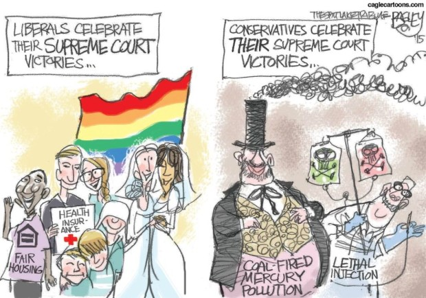Liberal conservative Supreme Court