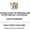 High court list october 19th