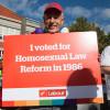 Labour gay pride parade richard northey
