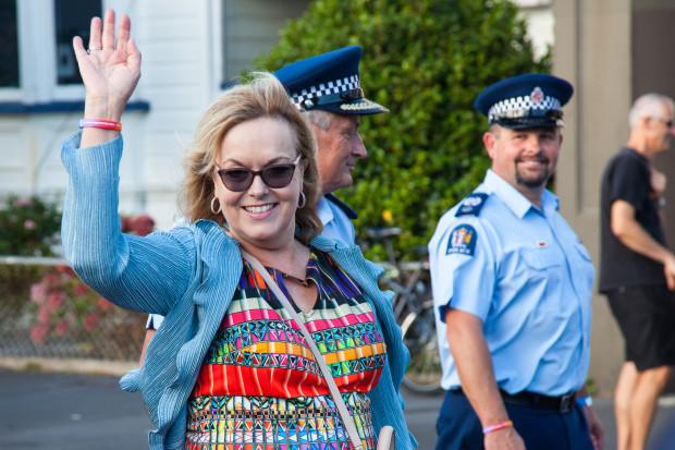 Labour gay pride parade judith collins police
