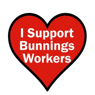 Support Bunnings workers