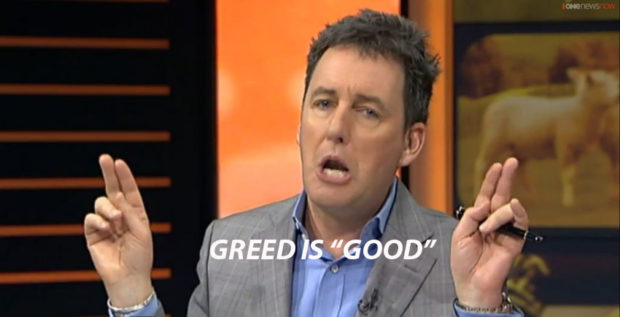 Mike Hosking greed is good2