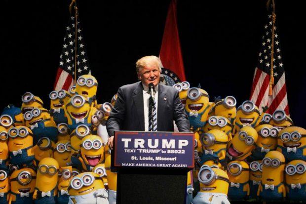 trump-and-minions